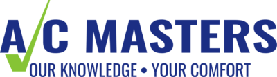 Logo for HVAC service providers AC Masters